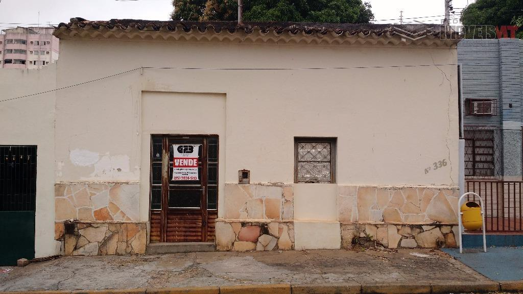 Casa  comercial à venda, Centro Norte, Cuiabá.