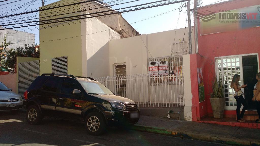 Casa  comercial para venda e locação, Centro Sul, Cuiabá.