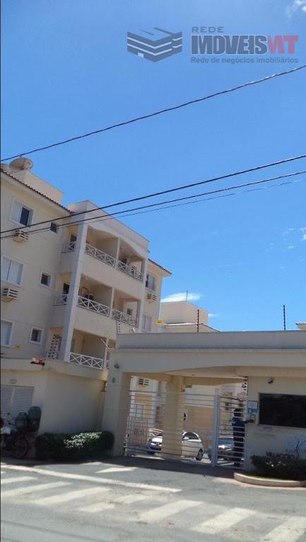 Apartamento residencial para locação, Ribeirão do Lipa, Cuiabá.