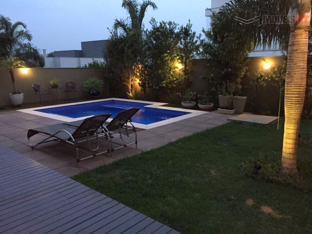 Sobrado residencial à venda, Condomínio Belvedere, Cuiabá.