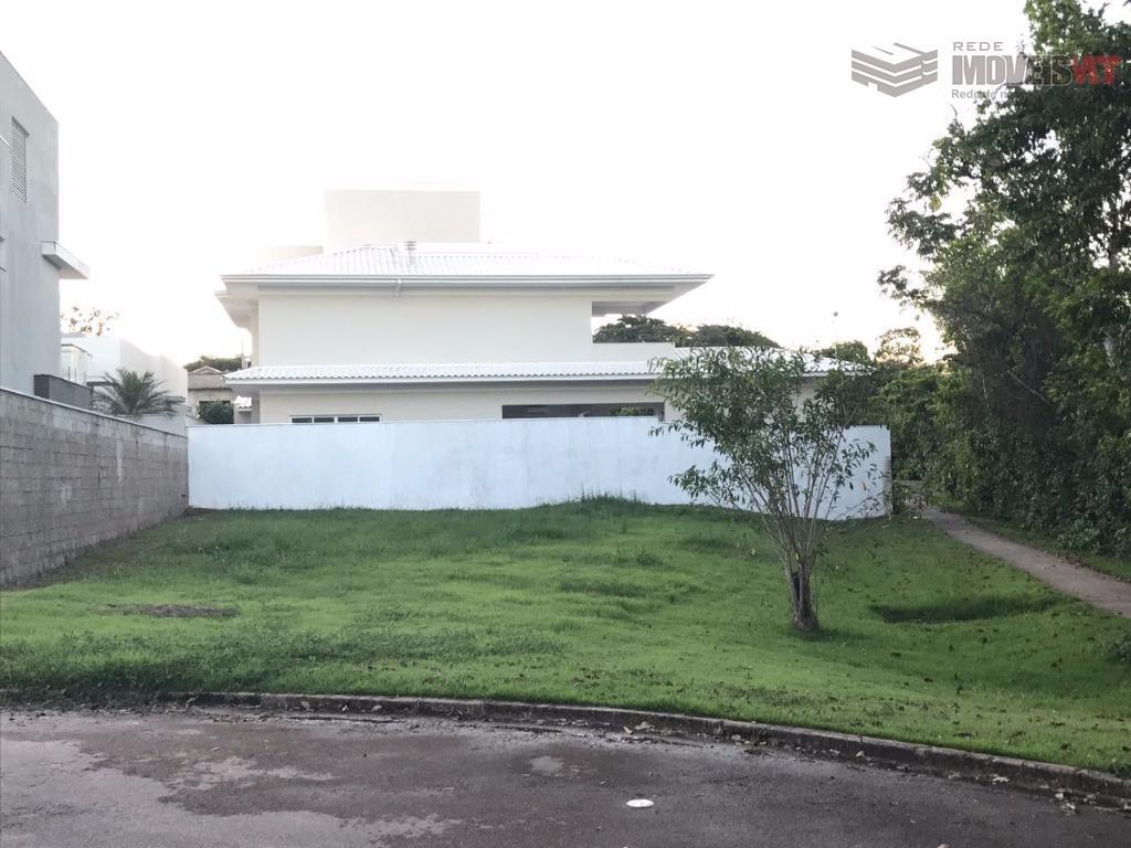 Terreno residencial à venda, Condomínio Belvedere, Cuiabá.