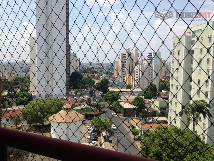 Apartamento residencial Edificio Apollo Tower à venda, Quilombo, Cuiabá-MT