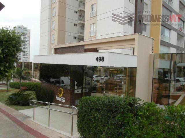 Apartamento residencial para venda e locação, Quilombo, Cuiabá.