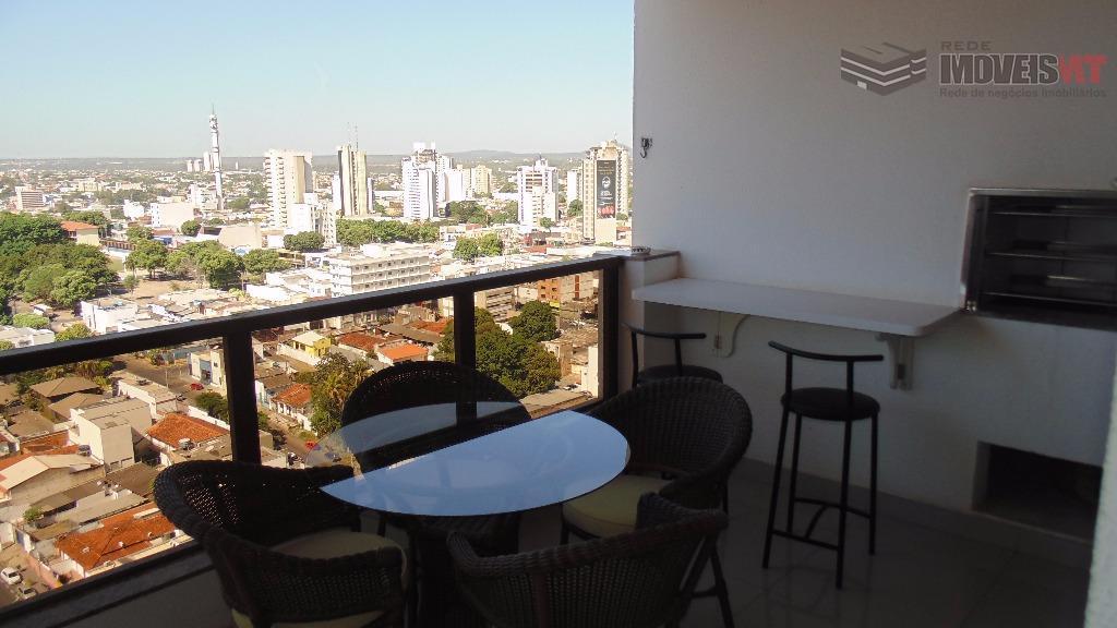 Apartamento residencial à venda, Edificio Monreale, Quilombo, Cuiabá-MT