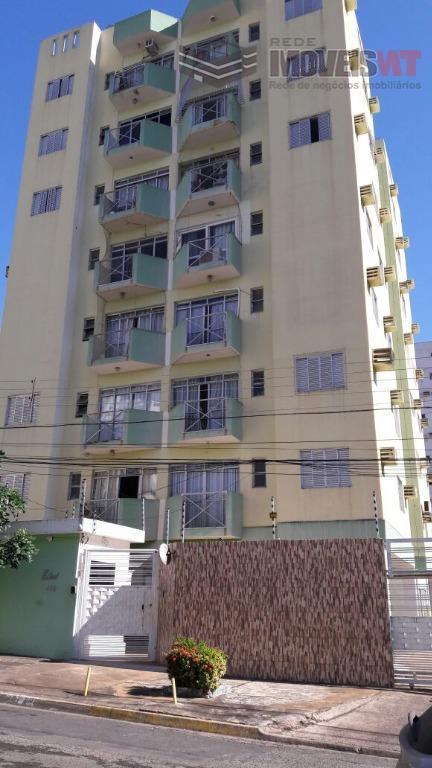 Apartamento residencial para venda e locação, Bosque da Saúde, Ed. Estoril Cuiabá.