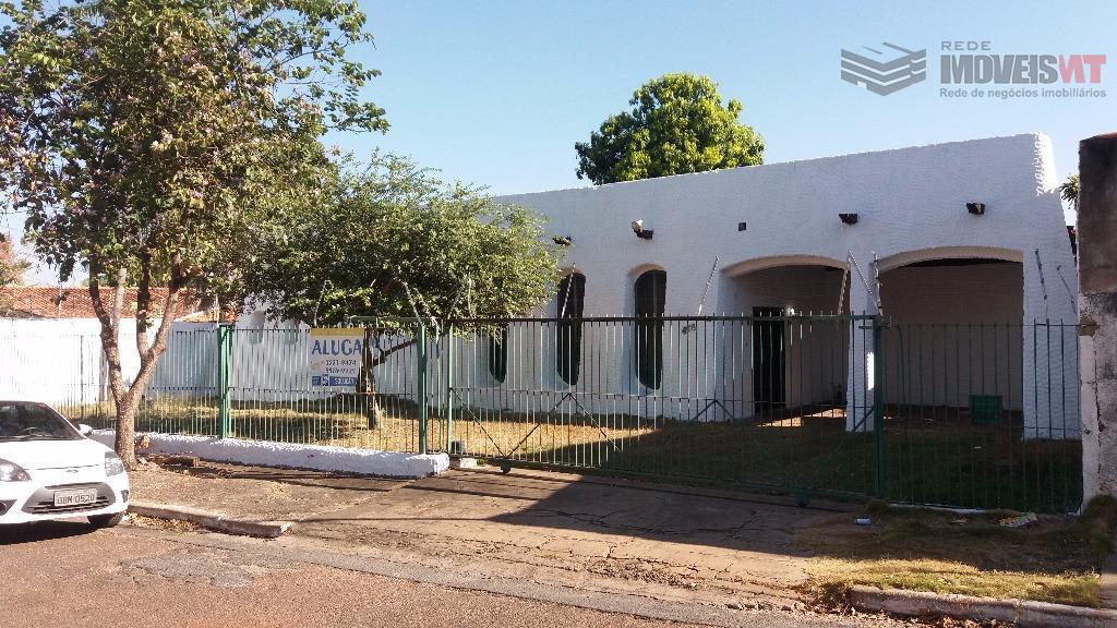 Casa residencial para locação, Boa Esperança, Cuiabá.