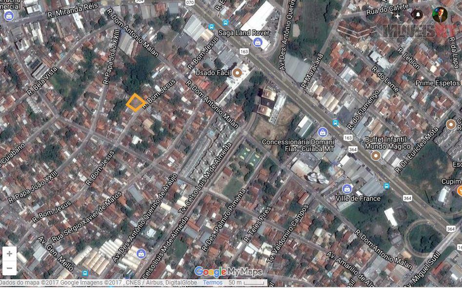 Terreno residencial à venda, Poção, Cuiabá.