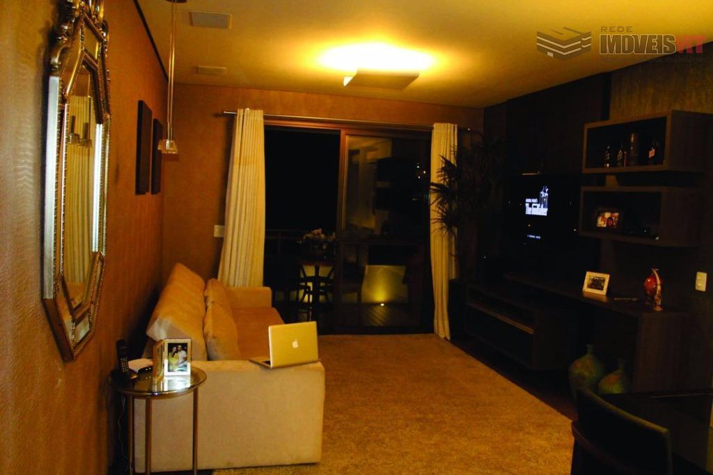 Apartamento residencial à venda, Edifício Torre de Murano, Quilombo, Cuiabá-MT