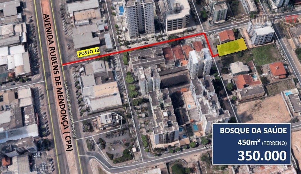 Terreno residencial à venda, Bosque da Saúde, Cuiabá - TE0044.