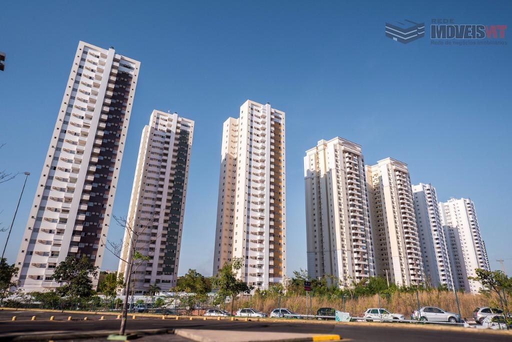 Apartamento residencial para venda, Condominio Edificio Parque Residencial Pantanal, Jardim Aclimação, Cuiabá - AP0355.