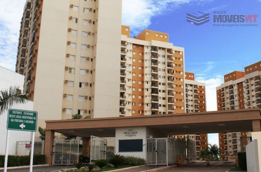 Apartamento residencial para locação, Morada do Ouro II, Cuiabá.