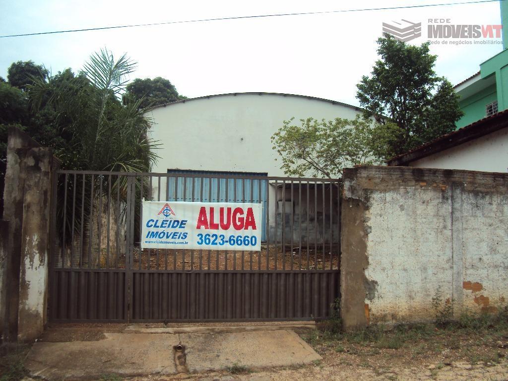 Galpão comercial para locação, Poção, Cuiabá.