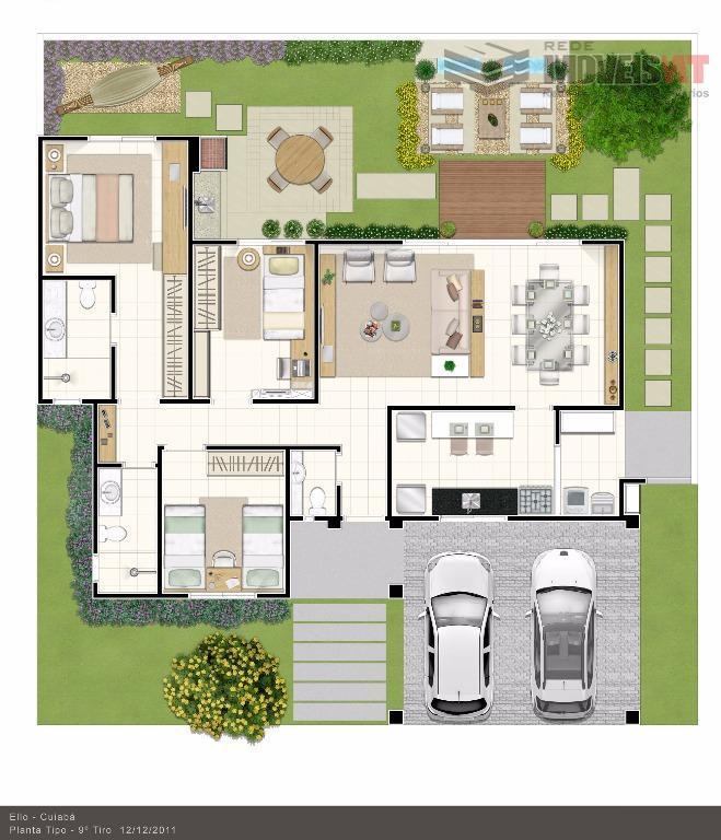 Casa residencial para locação, Condomínio Unique Residence, Vale dos Lírios, Ribeirão do Lipa, Cuiabá-MT