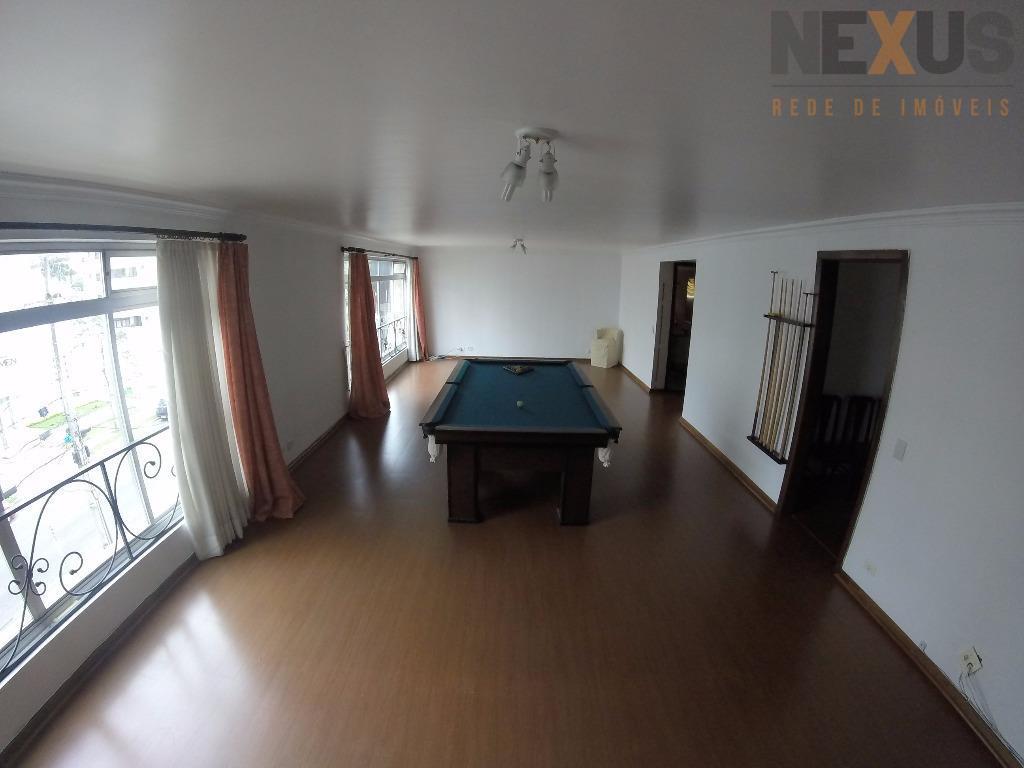 Apartamento residencial para venda e locação, Bigorrilho, Curitiba - AP0016.