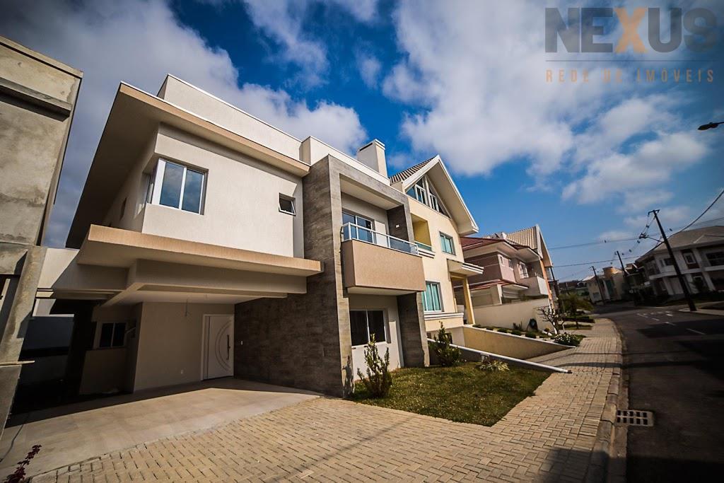 Casa Condomínio Fechado, Mobiliada, Capão Raso, Curitiba - CA0021.