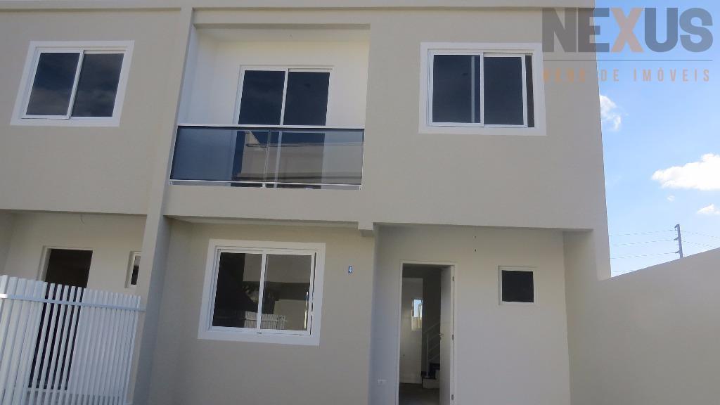 Sobrado residencial à venda, Uberaba, Curitiba - SO0008.