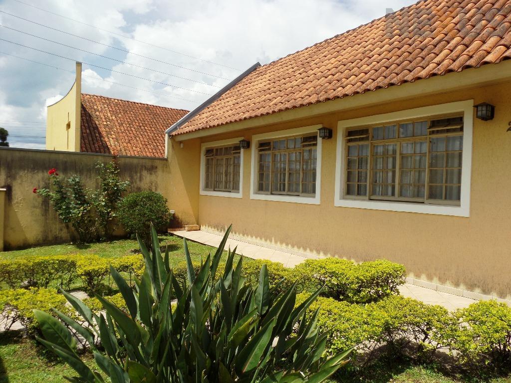 Casa térrea residencial à venda, Santa Felicidade, Curitiba.