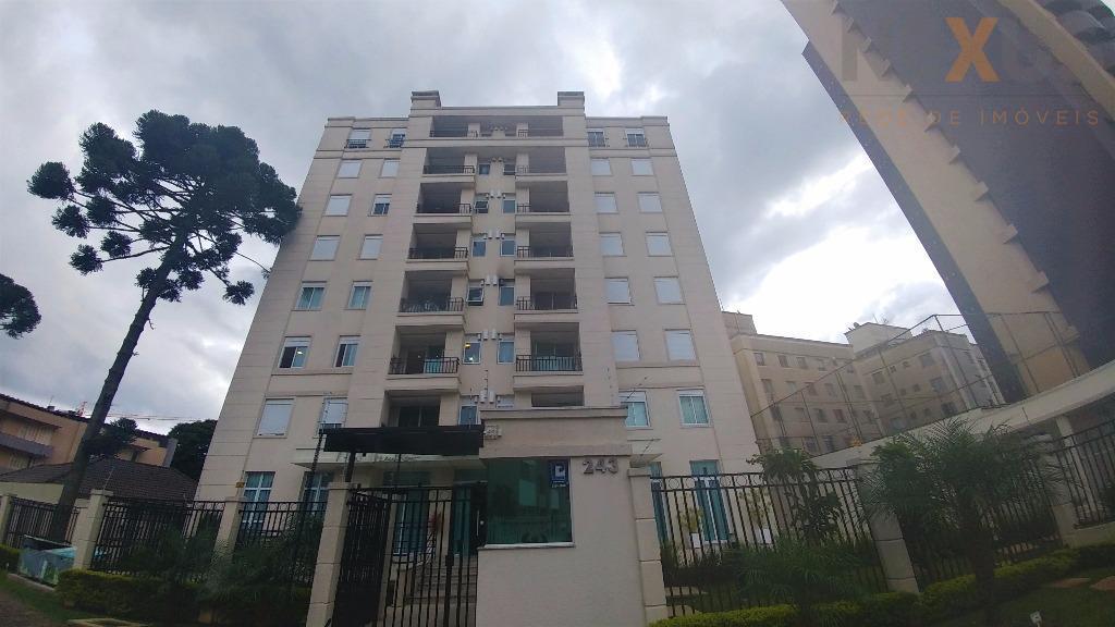 Apartamento, 02 dorms. (1 suíte) - Ed. Mont Tremblant - Cabral/Juveve - Curitiba/PR