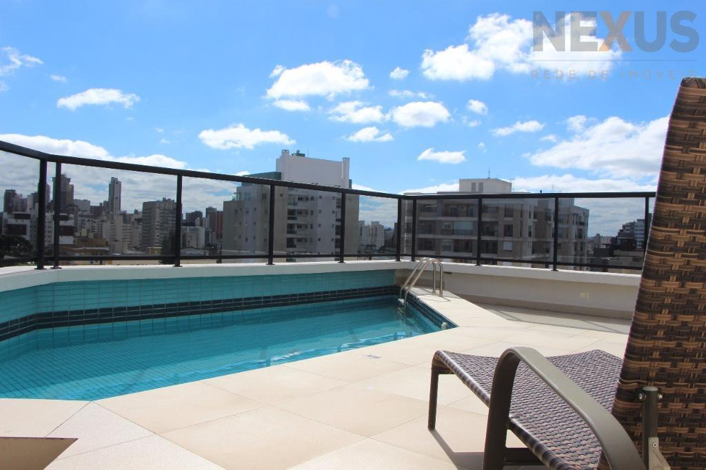 Cobertura triplex residencial à venda, Batel, Curitiba.