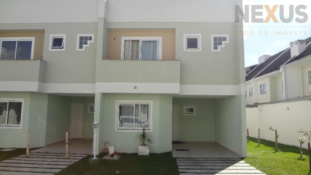 Sobrado residencial à venda, Uberaba, Curitiba - SO0003.