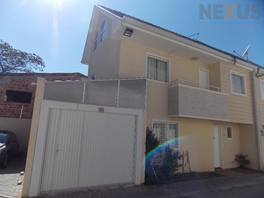 Sobrado residencial à venda, Novo Mundo, Curitiba - SO0046.