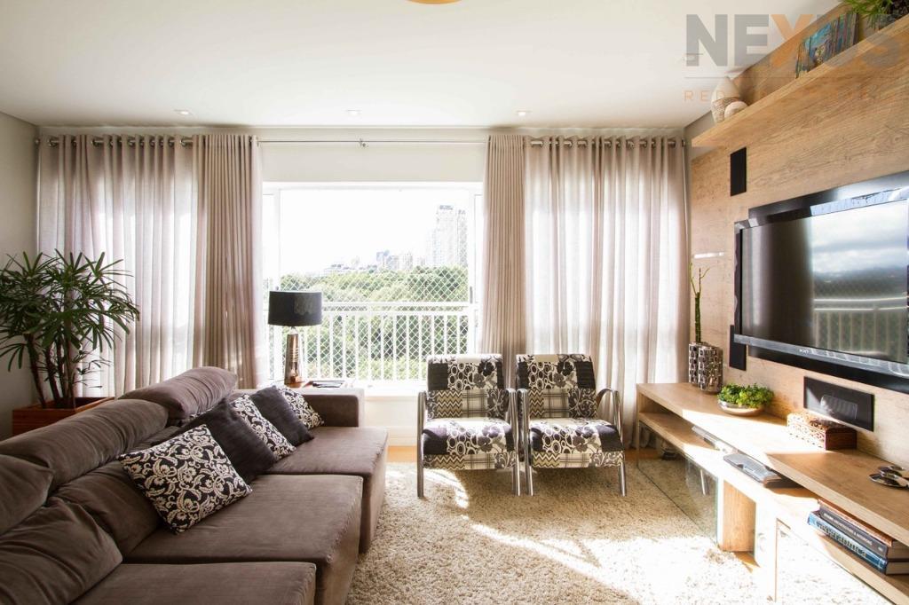 Cobertura residencial para venda e locação, Ecoville, Curitiba - CO0016.