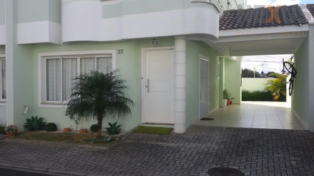Sobrado residencial à venda, Capão Raso, Curitiba.