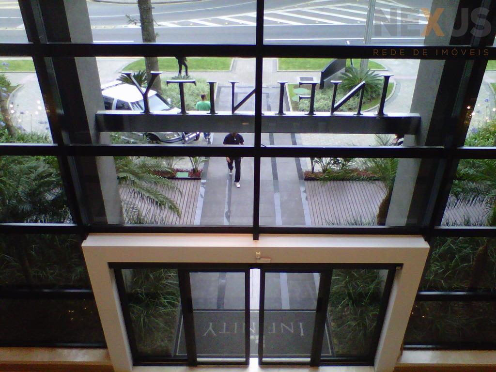Sala comercial para locação, Cabral, Curitiba.