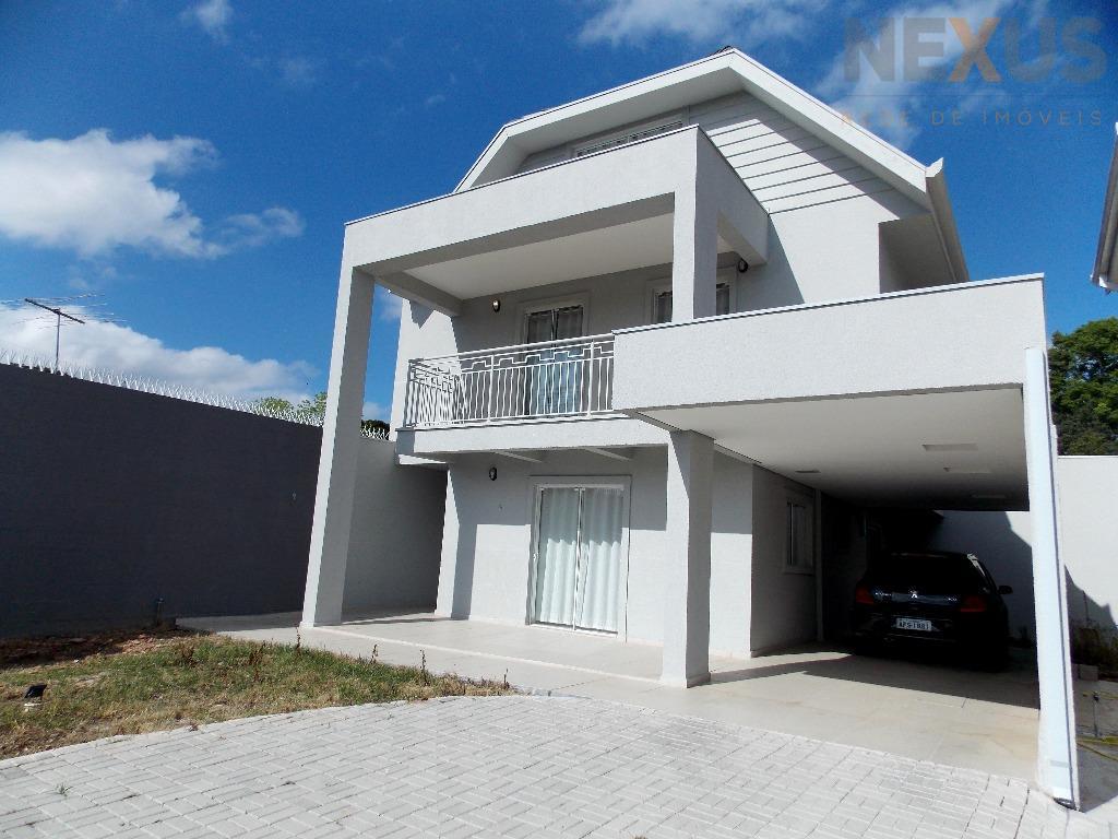 Sobrado residencial para locação, Santa Felicidade, Curitiba.