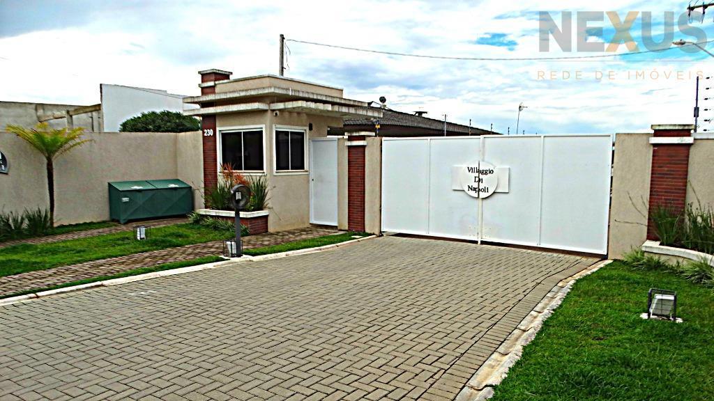 Terreno residencial, em condomínio, à venda, Campo de Santana, Curitiba.