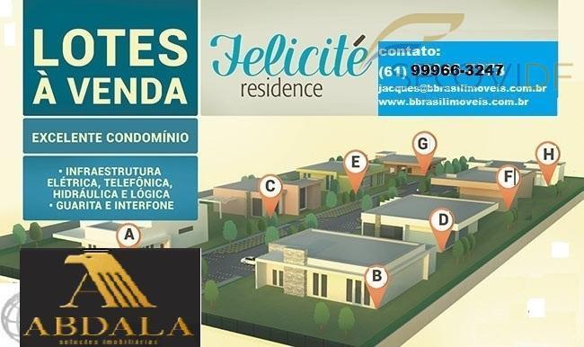 Terreno residencial com infraestrutura pronta à venda, Park Way, Brasília.