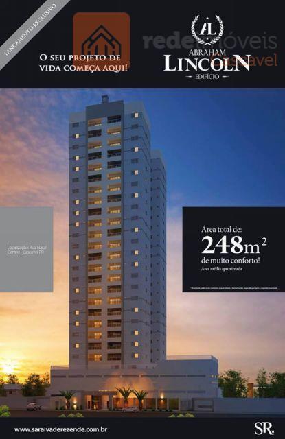 Apartamento residencial à venda, Centro, Cascavel - AP0157.
