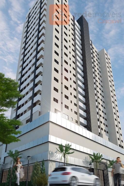 Para quem quer um clube sem sair de casa e o dinamismo do Centro, o Apartamento perfeito!