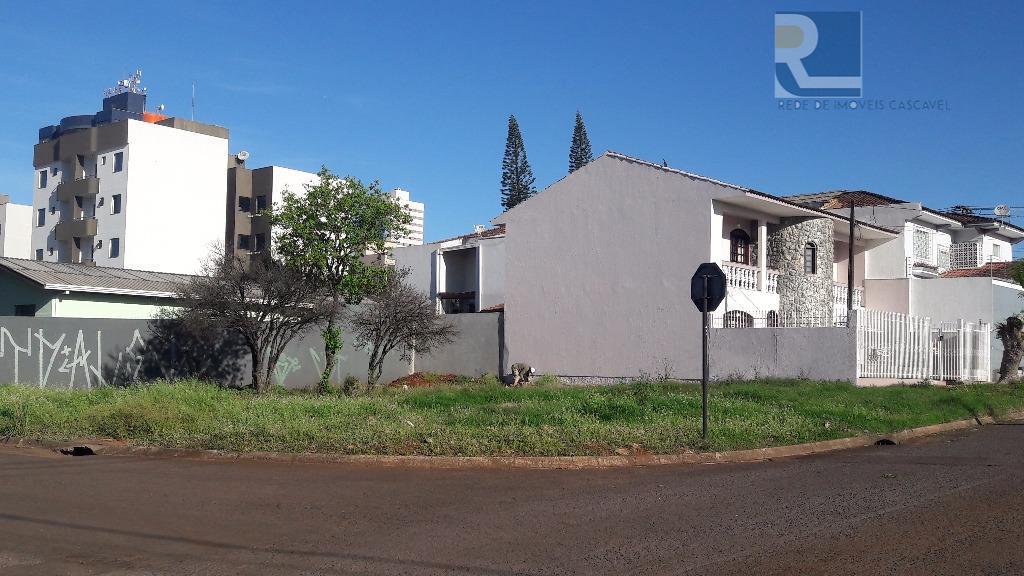 Terreno residencial à venda, Coqueiral, Cascavel.