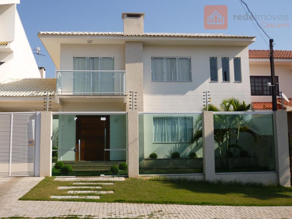 Sobrado residencial à venda, Recanto Tropical, Cascavel.