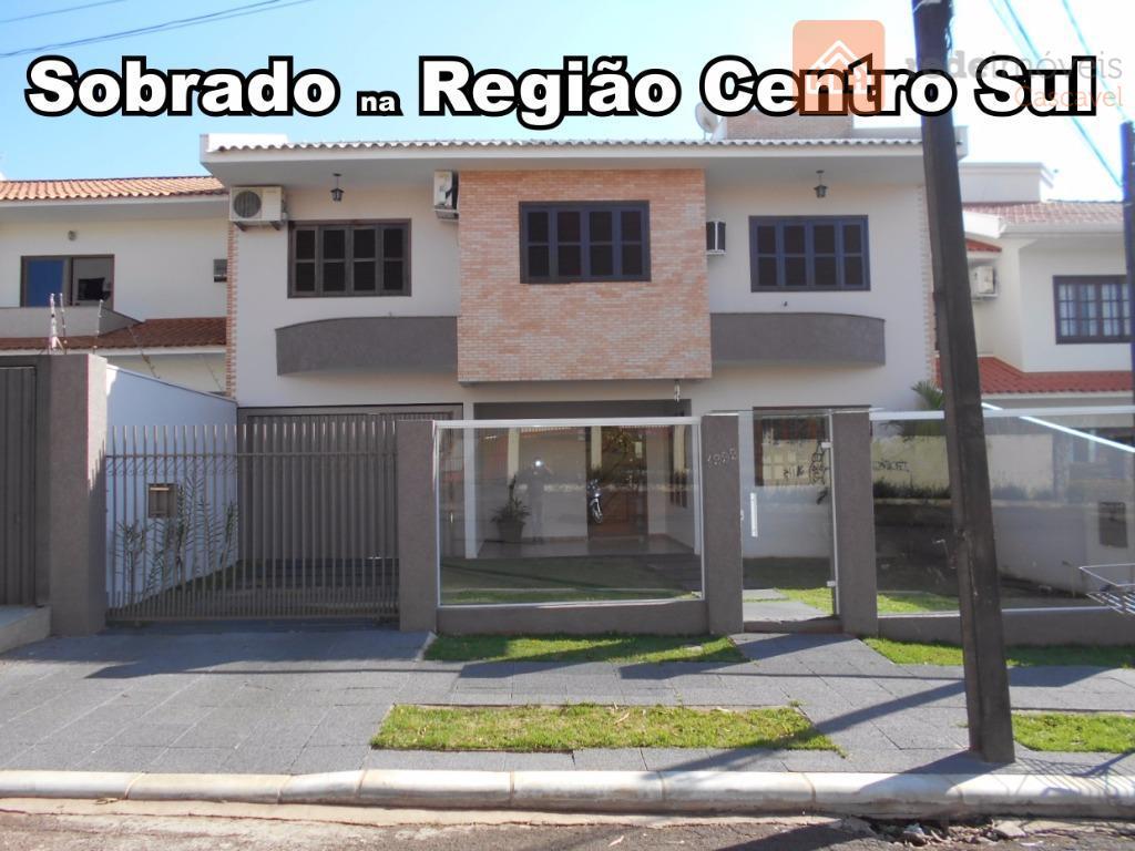 Sobrado residencial à venda, Vila Tolentino, Cascavel.