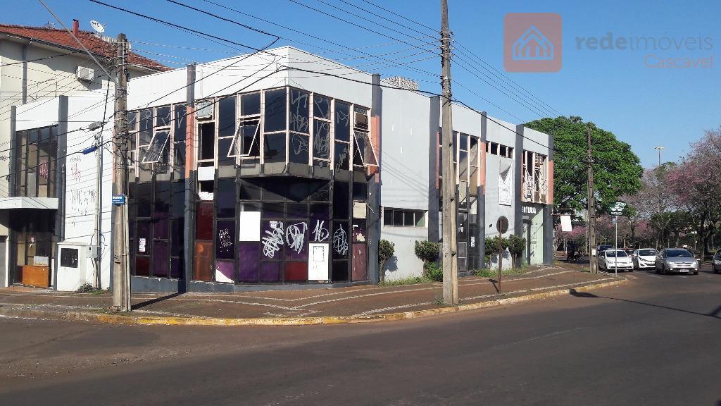 Loja comercial à venda, Centro, Cascavel.