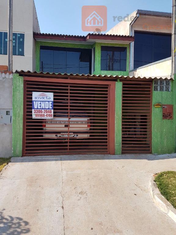 Sobrado residencial à venda, Santa Felicidade, Cascavel.