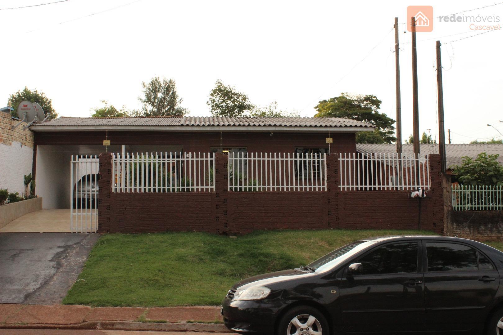 Casa residencial à venda, Santa Cruz, Cascavel.