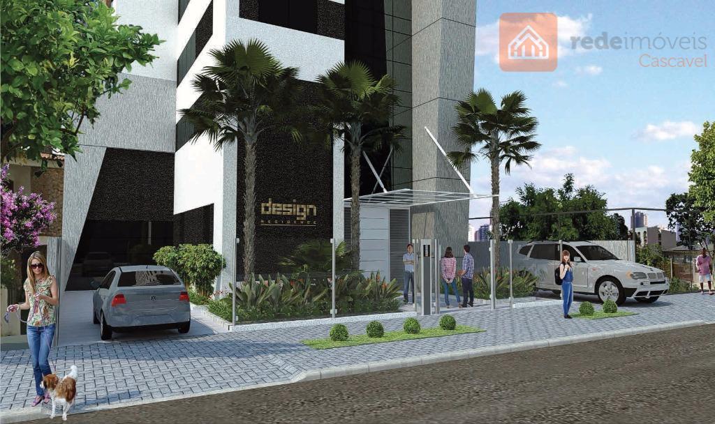 Apartamento Moderno no Centro para quem tem Estilo e Bom Gosto, com 02 suítes + office.