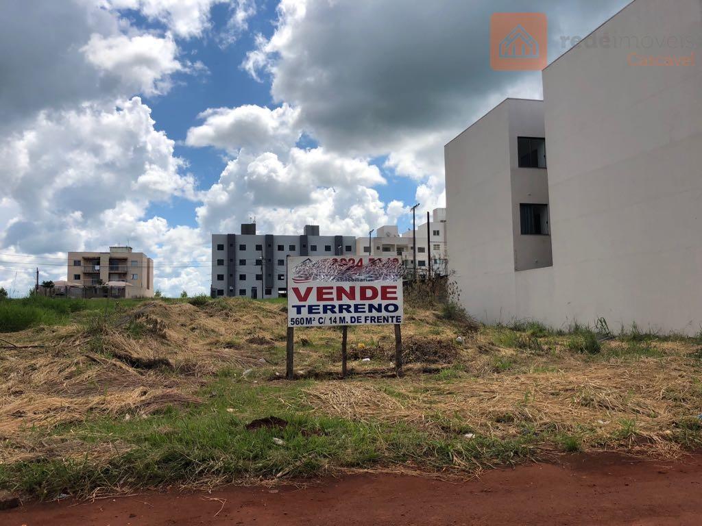 Terreno residencial à venda, Santa Cruz, Cascavel.