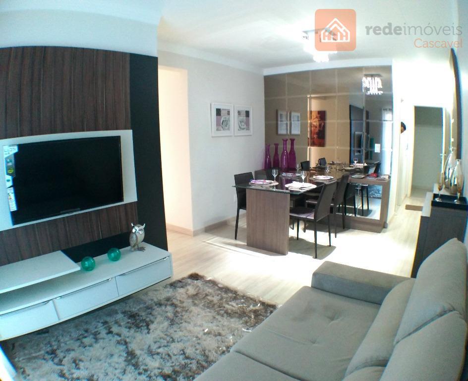 Apartamento residencial à venda, Coqueiral, Cascavel - AP0043.