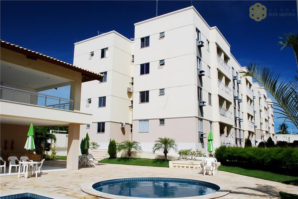 Apartamento residencial para alugar, Messejana, Fortaleza.