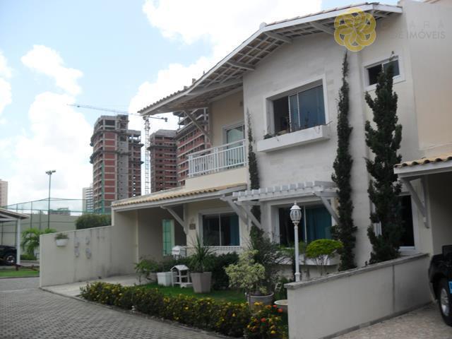 CA0204 - Casa condomínio 03 suítes, 05 vagas - Cid. Funcionários - Fortaleza
