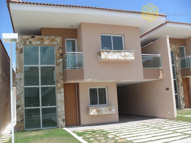 CA0207  - Casa Cond. 176m², 03 suítes - Lagoa Redonda - Fortaleza