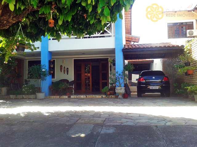 Casa residencial à venda, Edson Queiroz, Fortaleza - CA0216.