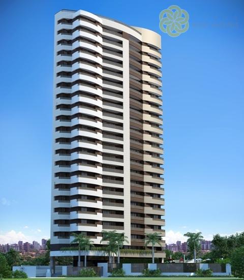 Apartamento à venda, Cocó, Fortaleza. - R$  1.324.058,65