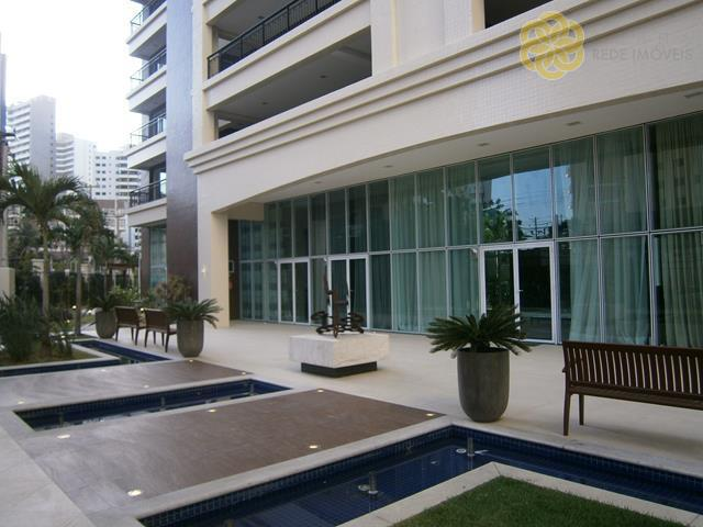 Apartamento residencial à venda, Cocó, Fortaleza - AP0145.