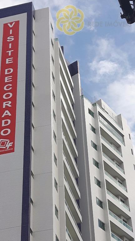 Apartamento residencial à venda, no bairro de Fátima, 3 suites, 100m², por R$ 568.000