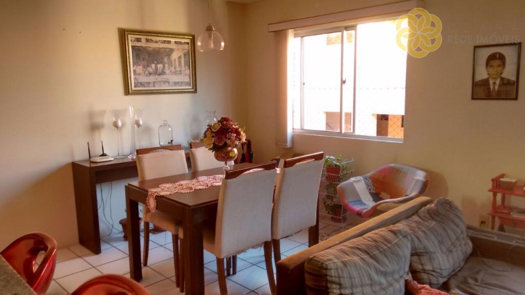 Apartamento residencial à venda, Engenheiro Luciano Cavalcante, Fortaleza - AP0003.